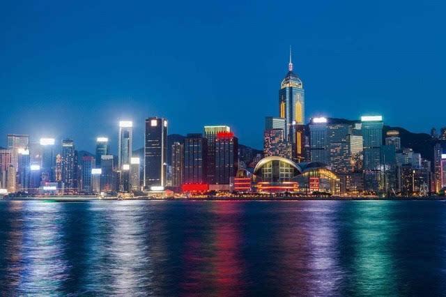 粤港澳大湾区:香港尖沙咀海滨花园介绍