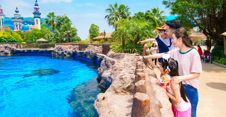 广州长隆度假区-中华白海豚