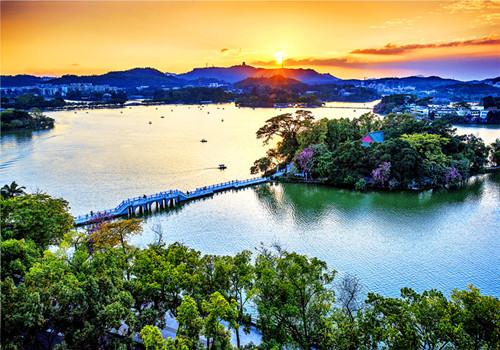 粤港澳大湾区:惠州西湖