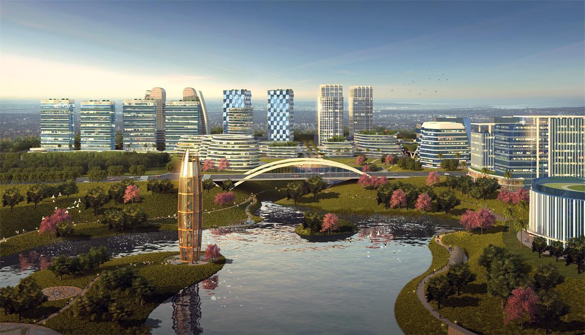 广佛(佛冈)产业园中心区邻里中心建设项目总投资 151058.41万元