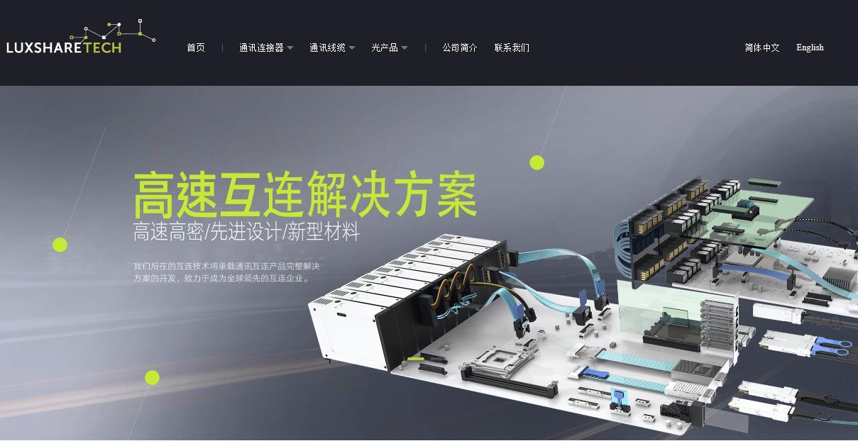 东莞立讯技术有限公司高速背板连接器项目总投资 20000.0万元